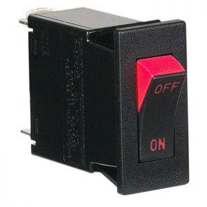 M-Series Rocker Magnetic Circuit Breaker 1-Pole