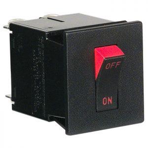 M-Series Rocker Magnetic Circuit Breaker 2-Pole
